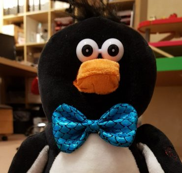 Donnerstag- Besuch vom Pinguin