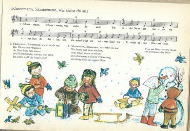 Freitag- Schneemann, Schneemann…
